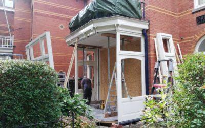 Nieuwe erkers, duurzame woning