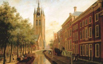 Oude Delft in nieuw jasje